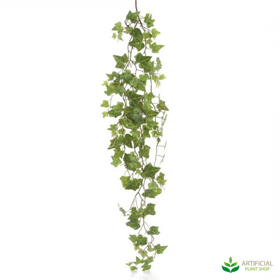 fake ivy leaf hanging bush 1.15m