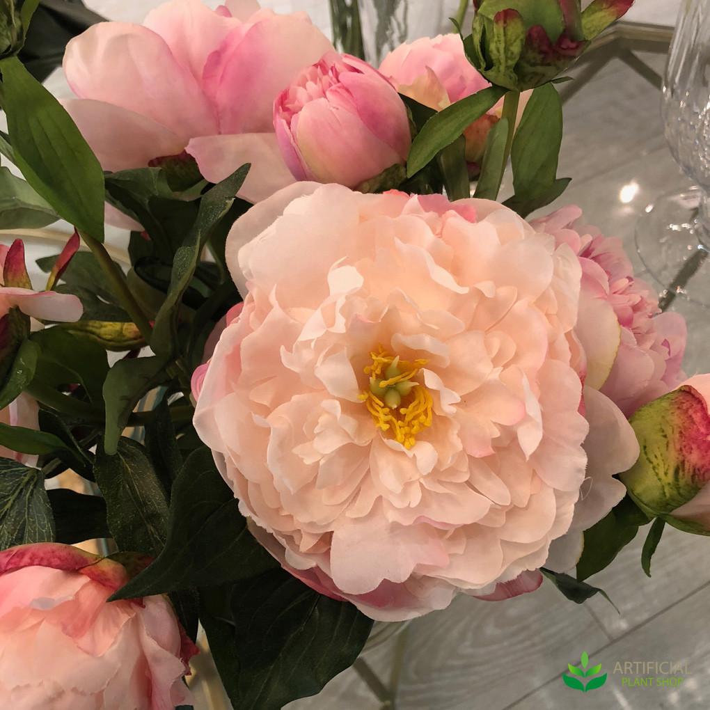 artificial peony flower