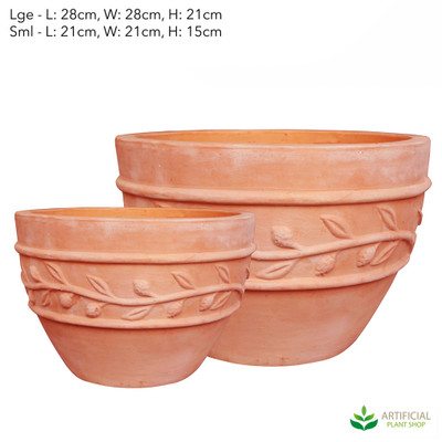 monte planter set of pots