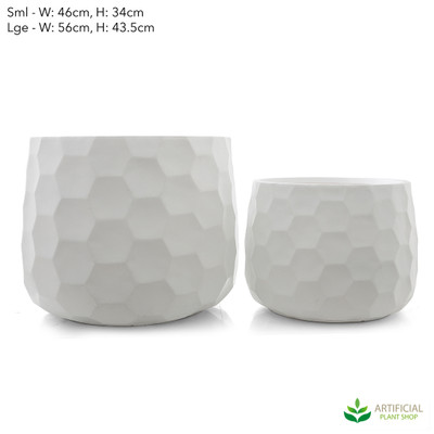 large honeycomb pot set