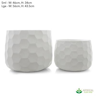 large honeycomb pot set