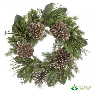 Pinecone Wreath 60cm