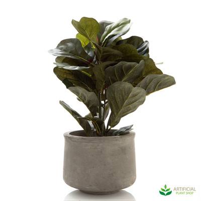 artificial fiddle leaf plant potted 45cm