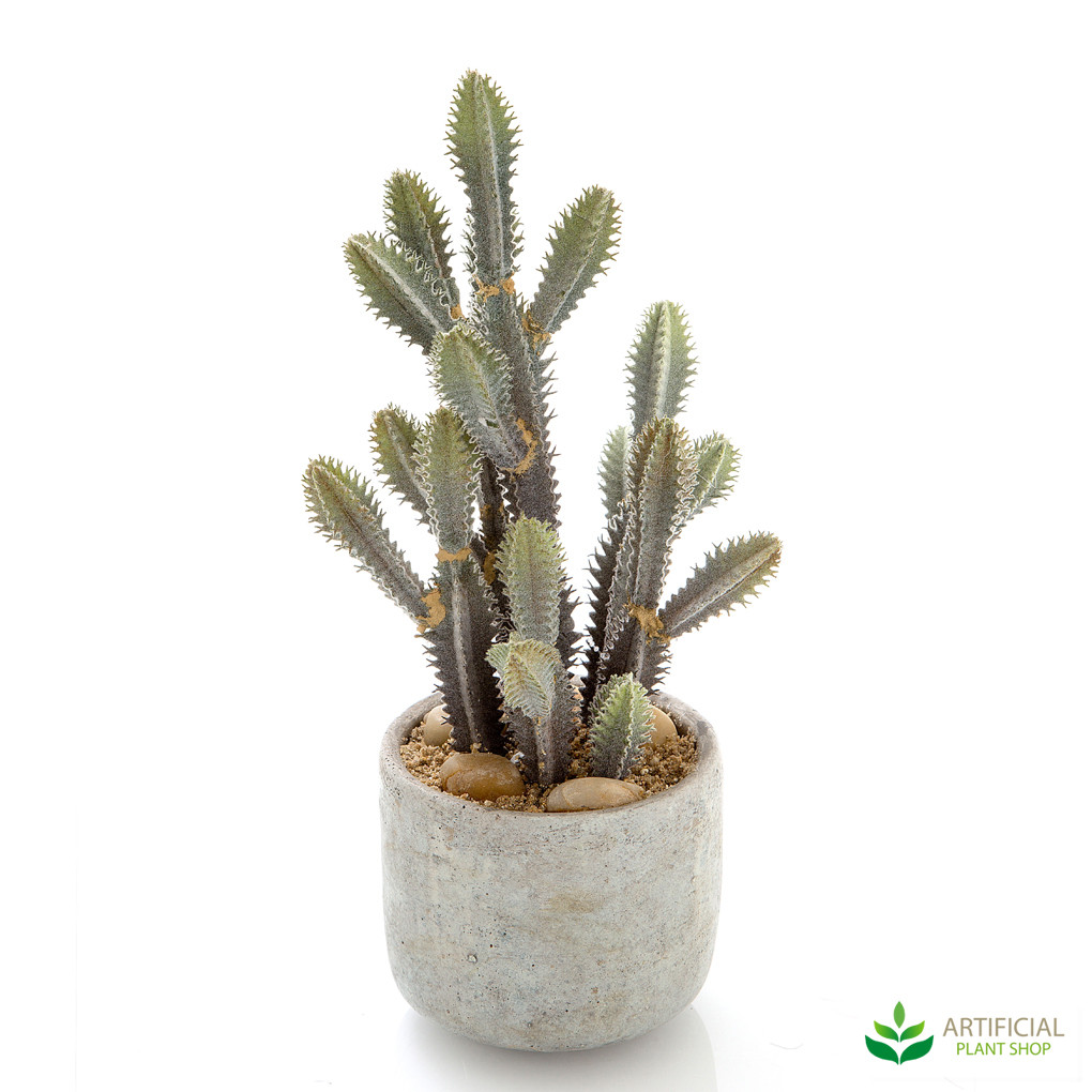 artificial cactus plant mixed 32cm