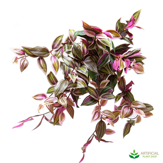 artificial wandering jew bush 51cm