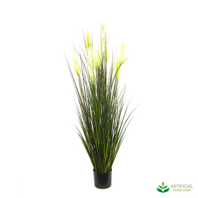 artificial bulrush grass in pot 1.5m