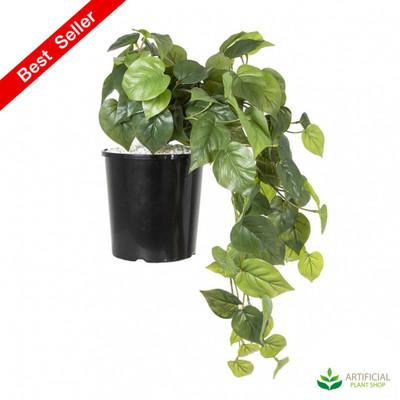 artificial philo bush hanging plant