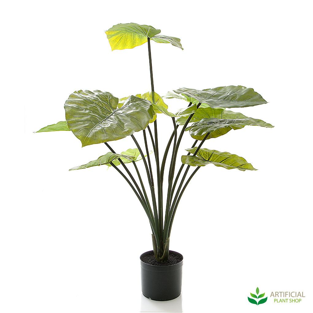 artificial taro plant 1m