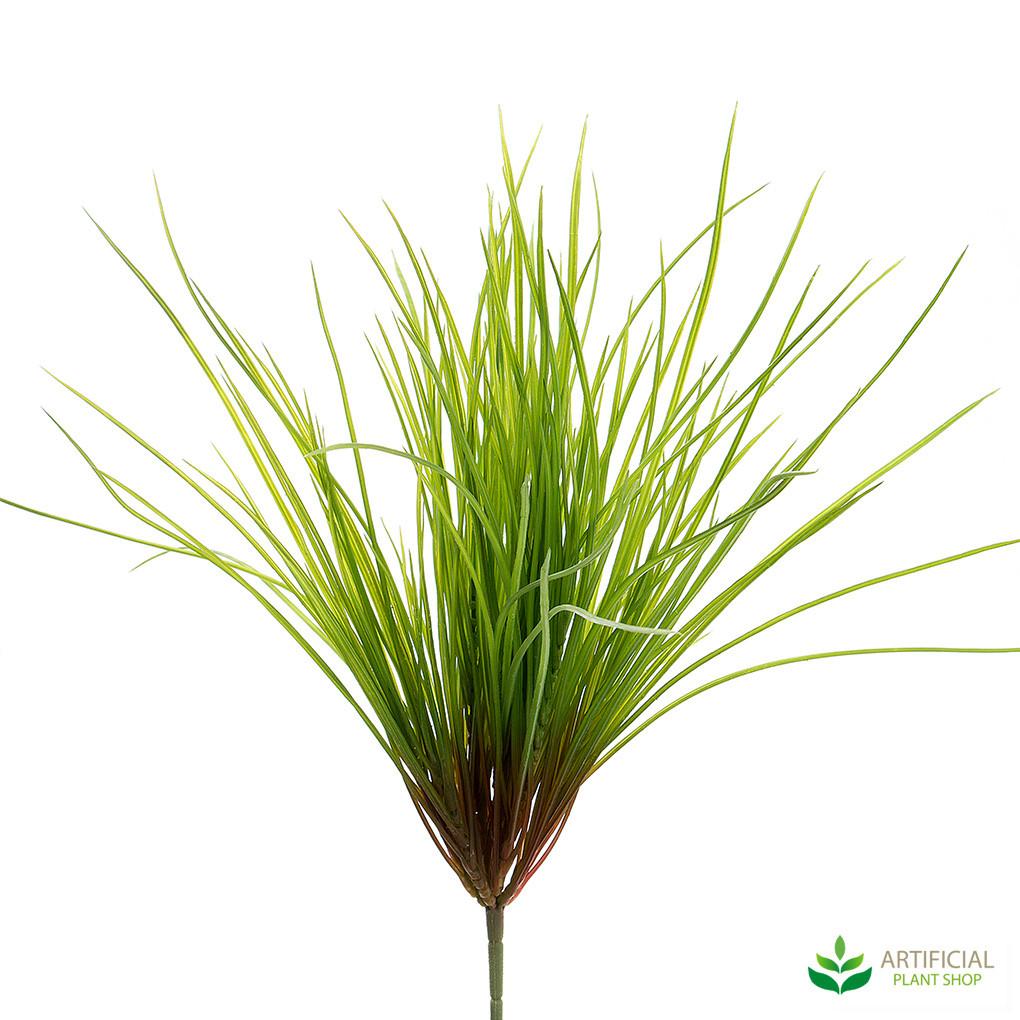 artificial grass bush (pack of 12)