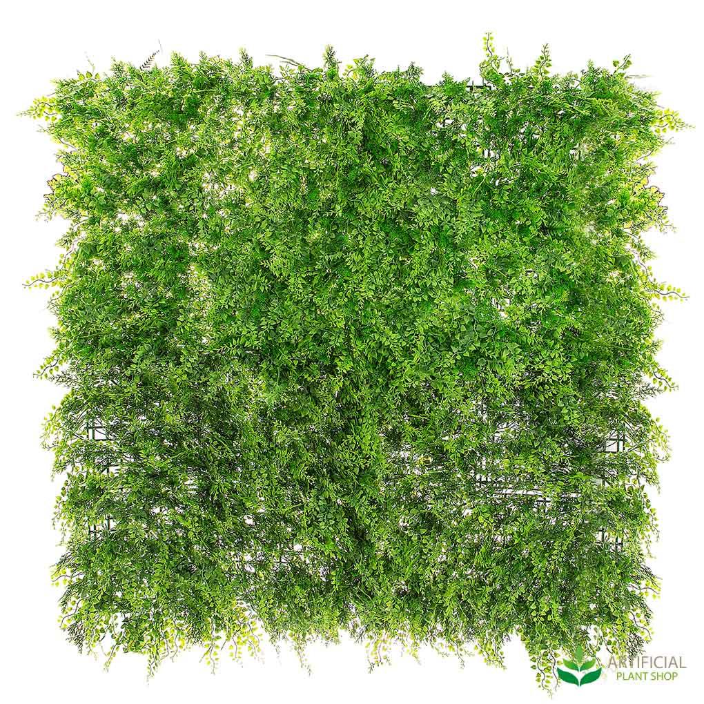 artificial fern wall foliage 1m x 1m