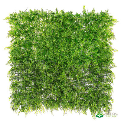 artificial fern wall foliage 1m x 1m