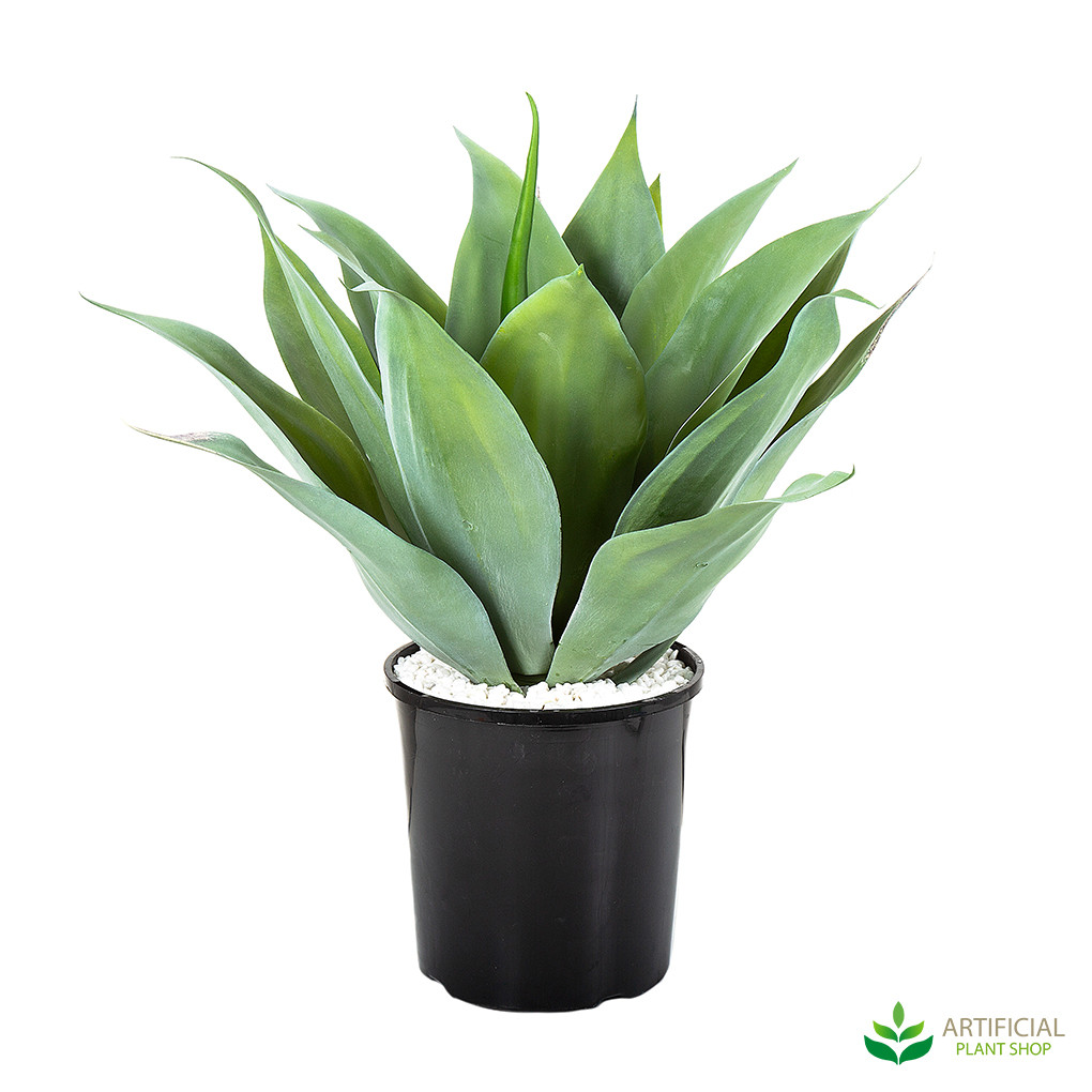 artificial agave plant potted 50cm