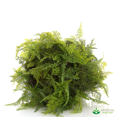 artificial fern ball 50cm