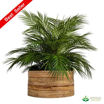 artificial Palm in haiti pot