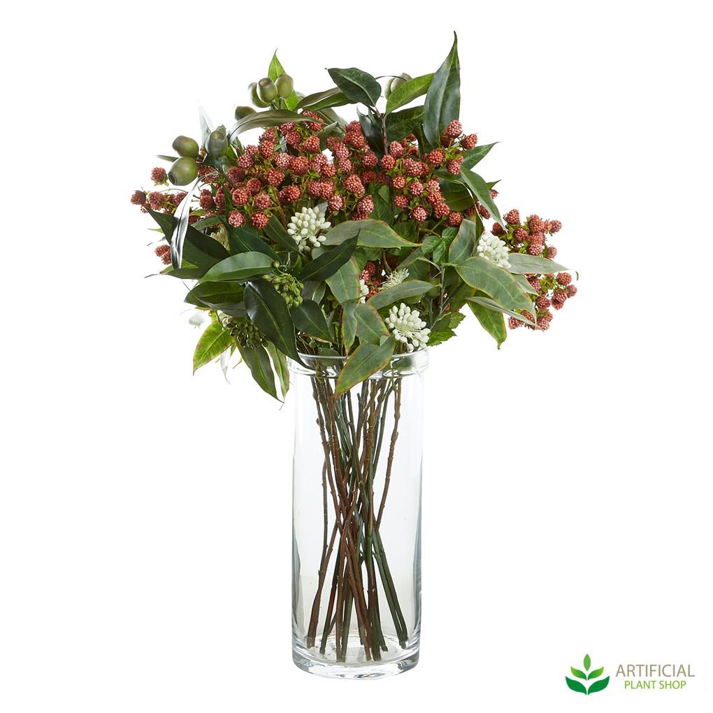 artificial eucalyptus arrangement