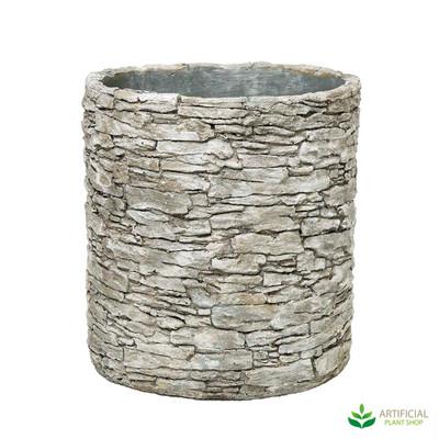 Stone pot planter