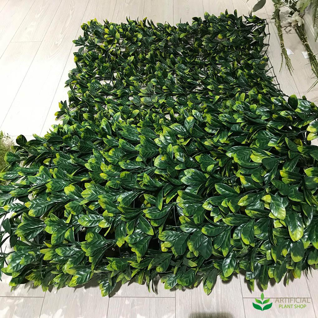 fake plants laurel leaf roll