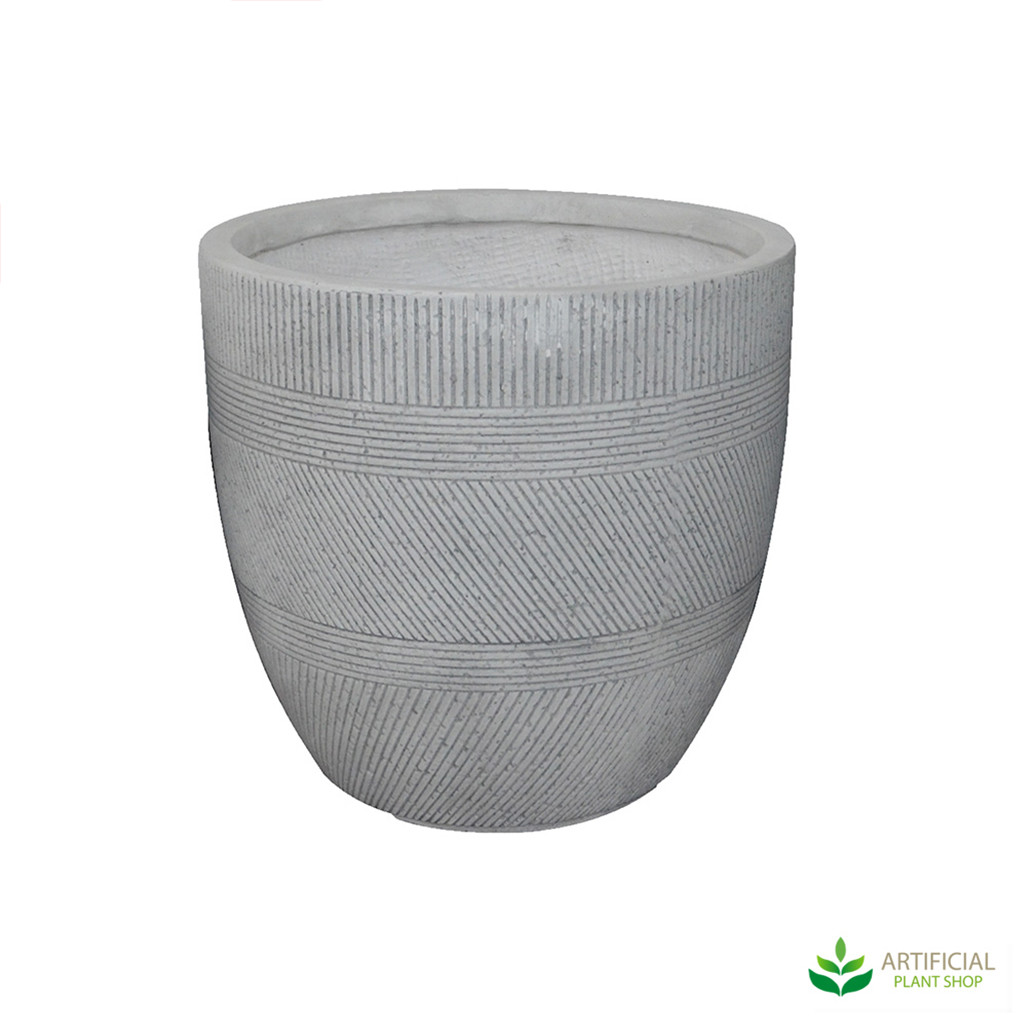 Medium Sized vetro Ridge Pot