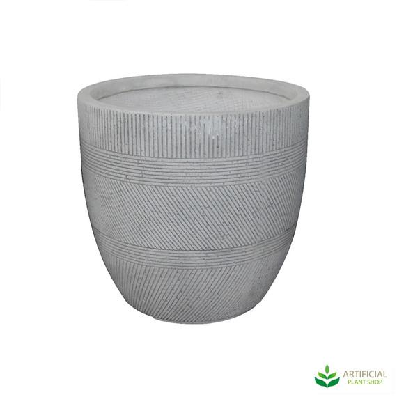 Medium Sized vetro Ridge Pot