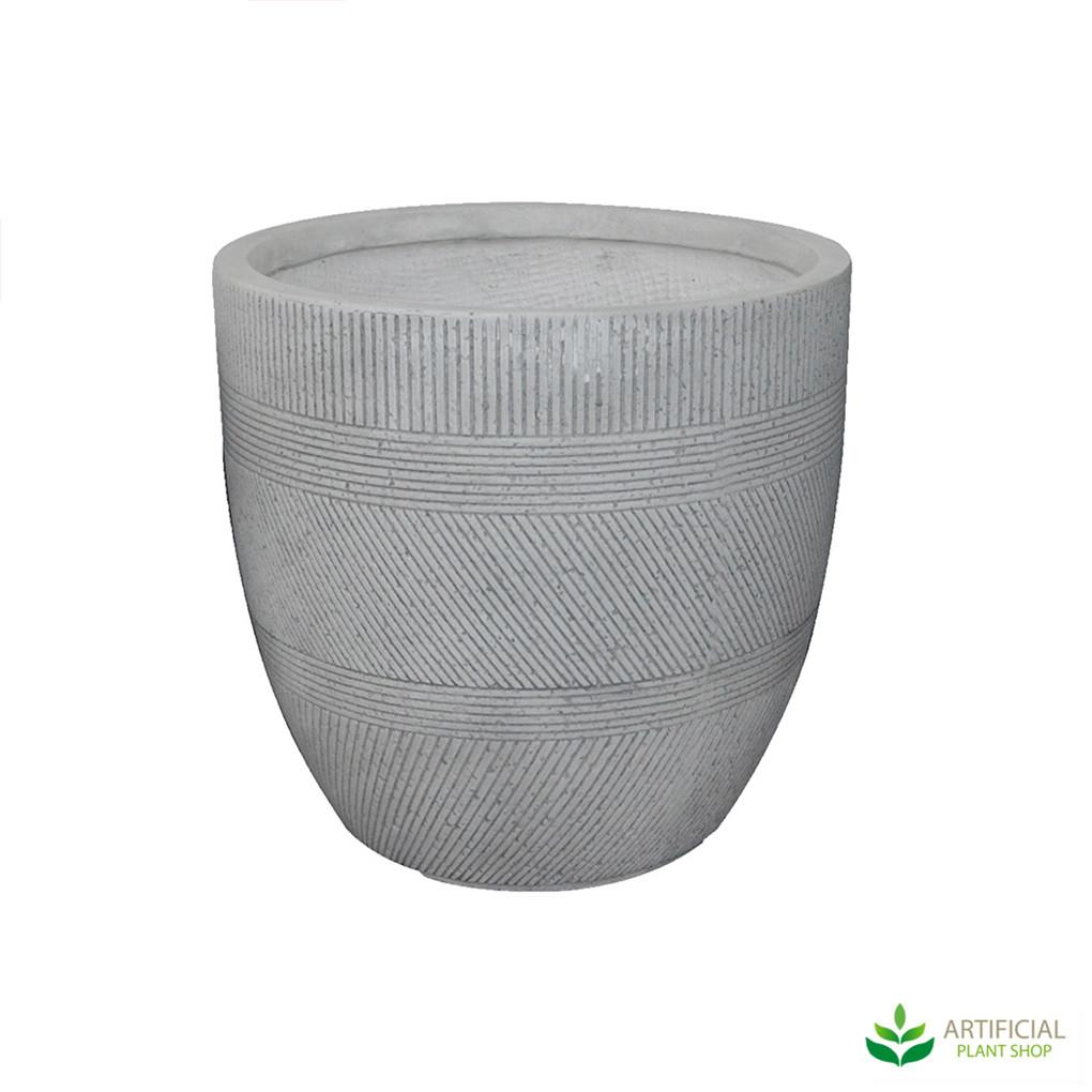 Large Vetro Ridge Pot