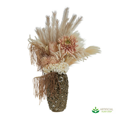 Small Daria Flower arrangement with dry-look artificial flowers