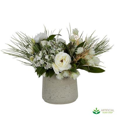 Mallie Artificial Flower Arrangement in pot