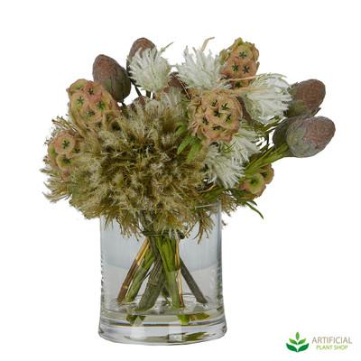 dry look Fake Flower arrangement