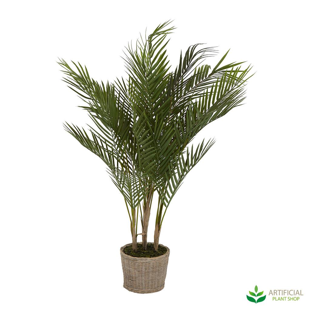 Faux Palm in pot