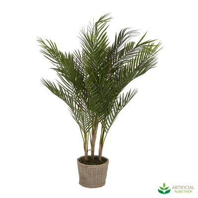 Faux Palm in pot