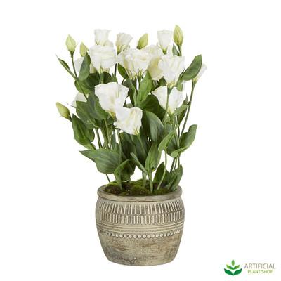 Artificial Lisianthus Flower Arrangement