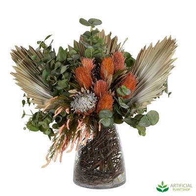 Artificial Autumn Flower Arrangement
