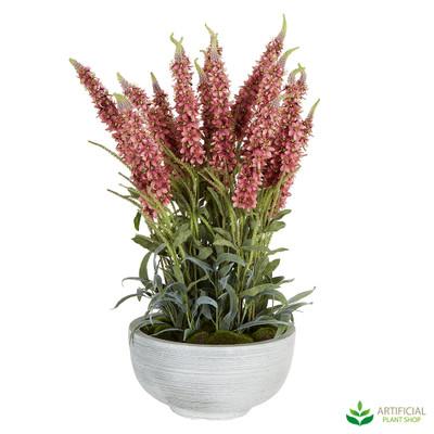 Pink Flax Flower Arrangement