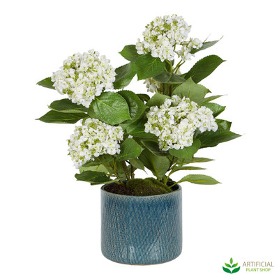 Artificial Hydrangea potted