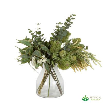 artificial Australian native flower arrangement