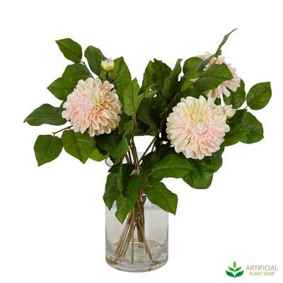 artificial dahlia flowers
