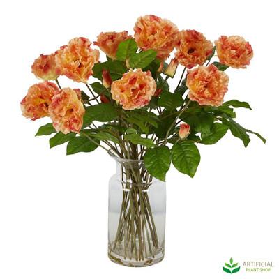 Orange Poppy flower arrangement