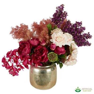 Artificial Mixed flower arrangement