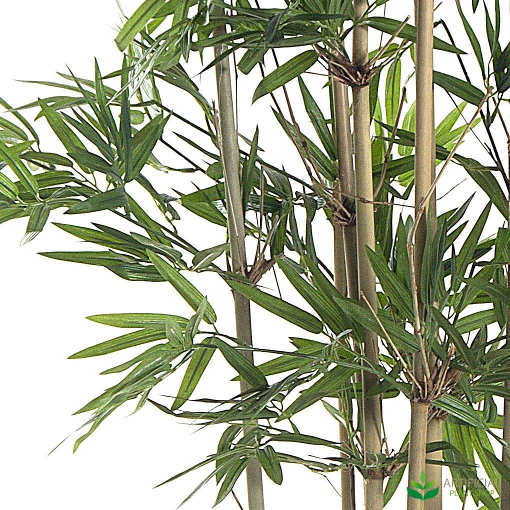 lifelike bamboo leaves