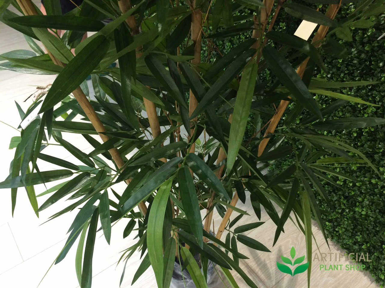 artificial bamboo tree leaves
