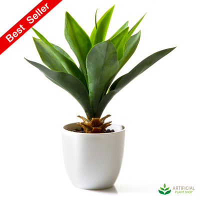 Artificial Agave Potted 27cm