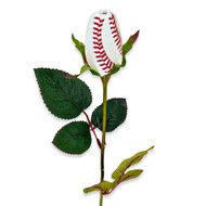 "Baseball Rose - Long Stem 24"" - CLEARANCE"