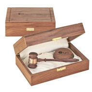 The Royal Gavel Presentation Set