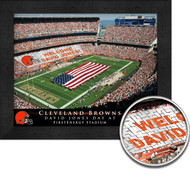 Cleveland Browns Stadium Print - Personalized