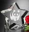 "Superstar Crystal Corporate Award   Star Vendor Trophy - 3"" 5 Piece Minimum Purchase"