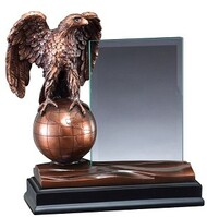 Eagle Globe Story Glass Award