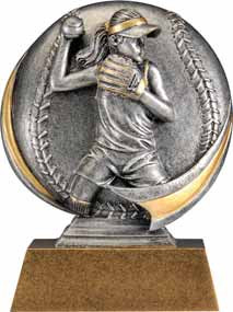 Softball Motion Extreme 3D Trophy