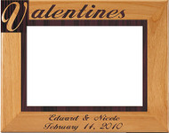 Valentine's Picture Frame - Personalized