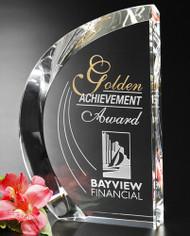 Regatta Crystal Award - Engraved