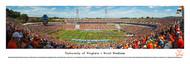 University of Virginia Panorama Print #2 (50 Yard) - Unframed