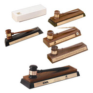 Desk Stand Gavel Sets